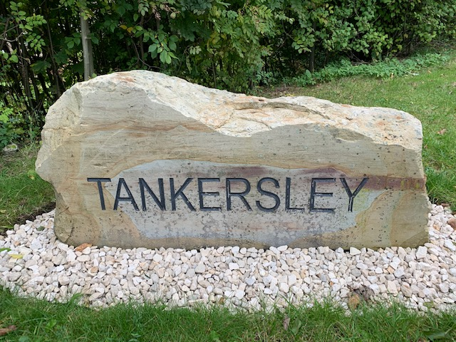 Newly Renovated Tankersley Sign