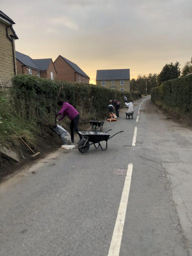 Work in Progress Lidgett Lane